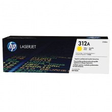 惠普(HP)CF382A黄色硒鼓 312A(适用HP Color LaserJet MFP M476)